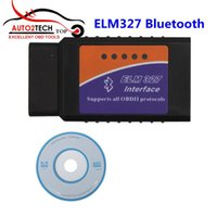 2016 Promotion 1.5V ELM327 Logiciel Bluetooth OBD2 CAN-BUS Scanner Tool Software V2.1 Scanner de diagnostic Meilleure qualité