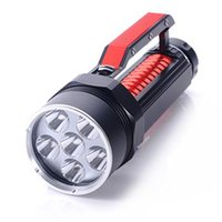 Wholesale Diving Flashlight Magnetic - New Super LED Diving Flashlight Searchlight 6x CREE XML L2 9000lm Magnetic Switch LED Flashlight Underwater diving led torch