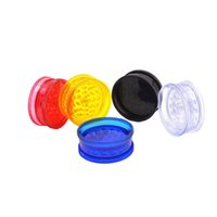 Wholesale Professional Wheels - 12pcs Plastic Wheel Shape Herb Grinder-2 layer 60mm with display box, PH5833 professional supplier