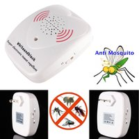 Wholesale Electronic Mosquitoes Repellent - Electronic Ultrasonic Pest Repellent Repeller for Anti Mosquito Cockroach Insects Rat HOA_85A