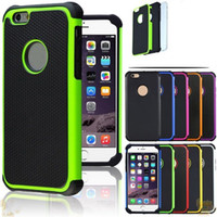 Pour iPhone 6 Defender Case, Hybride Antichoc Robuste Armure Cas Couverture pour iPhone6 ​​6G 6S 6+ Plus 4 5 5S pour Galaxy S6 S5 S4 Mini Note IP6C15