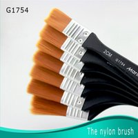 Wholesale Painter Brushes - Wholesale-2015 Sale New Arrival Wood Pastille 5b Watercolor Brush Pincel Brush For Drawing Nylon Paintbrush,hot Selling For Painter