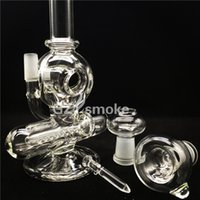 Wholesale bird catcher for sale - Group buy Bird design glass recycler bong with bowl and dome water pipe beautiful effect ash catcher hookah in stock