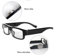 Wholesale Spy Cameras Glasses - 8GB undectable lens spy mini eyewear glasses camera 1280x720 HD video recorder mini camera hidden camera
