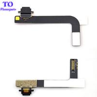 substituição do conector dock ipad venda por atacado-Novo Carregador de Carregamento Dock Connector Flex Cable Substituição para iPad 4 Frete Grátis