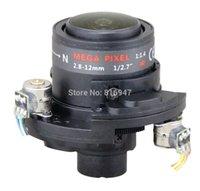 "Wholesale Ir Mega 12mm - 2.8-12mm 1 2.7"" F1.4, 3 mega pixel Auto-Iris cctv board lens with IR-CUT for ip cameras outdoor, surveillance lens"