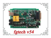 Wholesale Bdm Frame Galletto - Wholesale-DHL Free Latest V54 FGTech Galletto 4 Master BDM-Tricore-OBD FG Tech ECU Programmer with Multi-langauge+bdm frame with adapaters