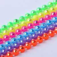Wholesale Wholesale Neon Cup Chain - Wholesale-10Yards Lot,Colorful rhinestone cup chain SS8,neon rhinestone banding With Neon AB stone, Total 7 Colors (RT-240-neon-AB)