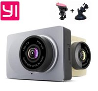 Wholesale International Cards - Upgrade International Edition Xiaomi YI Smart Car DVRs camera Wifi wireless Xiaoyi ADAS dvr Camera Dash Cam 1296P 1080P 60fps car dvr