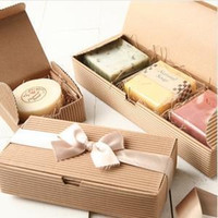 Wholesale Cardboard Package Cake - DIY Paper Craft Box Kraft Paper Cake Boxes Moon Cake Paper Cardboard Boxes Gift Cookie Food Packaging Mooncake Packaging