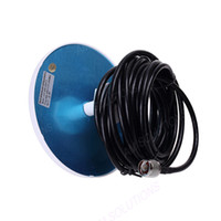 Wholesale Indoor Antenna Cell Phones - ommunication Equipment Antennas for Communications Indoor Ceiling Antenna 850~2500MHz with 5m Cable for 2G 3G and 4G Cell Phone Signal Re...