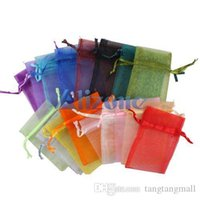Wholesale A5 Gift Box - 50PCS Organza Jewelry Gift Box Wedding Gift Candy Pouch Bag 7x9cm#11443 bag watch bag ipad A5