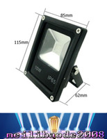 Wholesale Lamp Case - LED RGB Floodlight Black Case 10W-50W Dimmable Lamp With Remote Controlle LLWA003