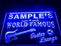 Wholesale Red White Blue Guitars - DZ007-b Name Personalized Guitar Lounge Beer Bar Pub Room Neon Light Sign.JPG