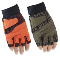 Wholesale Bicycle Force - Wholesale-Blackhawk Hell Storm USA Special Forces Luvas Paintball Tactical Half Finger Gloves Outside Bicycle Fighting Fingerless Gloves