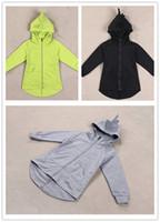 Wholesale Children S Character Hoodies - kids cardigans girls hoodies children cartoon hooded coat dinosaur hoodies jackets kids outewear toddler sweatshirt D2009