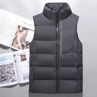 Wholesale North Winter - Top Quality Winter men north Down vest Camping Windproof Ski Warm Down Coat Outdoor Casual Hooded Sportswea vest 03