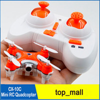 Wholesale Mini Hand Launch - Cheerson CX-10C Mini RC Quadcopter with 0.3MP Camera 3 Flight Speed Mode Support Hover Function LED Light Hand Launch 010134