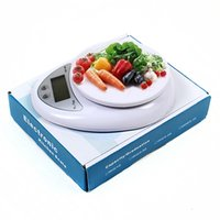 Wholesale Electronic Personal Scale - 5kg 5000g x 1g Electronic LCD Digital Kitchen Scale Weighing Food Fruits Diet Healthy Postal Scale