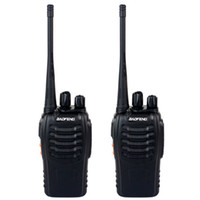 Wholesale Civilian Walkie Talkie - 2 Piece BAOFENG BF-888S Walkie Talkie UHF 400-470MHz 5W 16 Channel VOX Flashlight Scan Monitor Voice Prompt Single Band Two Way Radio A7154A