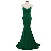 6542fd25b2d3 Neue Frauen lange Kleid Wrapped Brust aus Schulter tiefem V-Ausschnitt  geraffte breiter Saum bodycon Partykleid grün bestellen   18 keine Spur