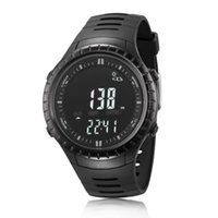 Wholesale Sport Watch Thermometer - Spovan SPV710 3ATM Waterproof Men Sports Fishing Watch Barometer Altimeter Thermometer Weather Forecast Stopwatch Digital Watch