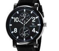 спортивные силиконовые часы для мужчин оптовых-2015 прибытие V6 мода повседневная кварцевые мужские часы спорт Дикий наручные часы челнок силиконовые часы мода часы платье часы рождественский подарок