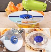 Wholesale Egg Beat - Plastic Egg Bowl Whisks Screen Cover Beat Egg Cylinder Baking Splash Guard Bowl Lids Kitchen Waterproof Bowl Lids OOA3462