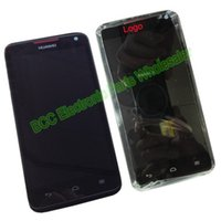Wholesale Ascend D1 - Wholesale-100% Original Tested For Huawei Ascend D1 U9500 Black LCD display +Touch screen Digitizer Panel + Frame complete +ship tracking
