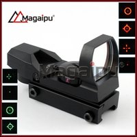 Wholesale Red Green Reticle Sight - JH-400 Tactical 4-Reticle Green red Dot Laser Sight Scope with Mounts