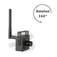 Wholesale Ip Video Camera Zoom - New Super Mini IP Camera wireless 720P cameras wifi CCTV Video Camera indoor H.264 Smallest 1.0MP P2P home security cam ONVIF