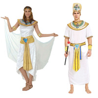 Wholesale Greek Decorations - Woman Men Lovers Greek Nile Lady Prince Princess Cosplay Carnival Costume Party Fancy Dress Fun Party Decoration