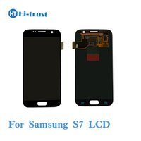 Wholesale Tft Lcd Panel Touch Screen - TFT Adjustable For Samsung Galaxy S7 G9300 G930T G930A G930V G930R4 G930P LCD Display With Touch Screen Digitizer Assembly Free Shipping