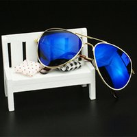 Wholesale Yuxi Fashion - Wholesale-YUXI New Fashion Summer Autumn Style Metal Glasses Boys And Girls Children's Vintage Sunglasses Star Style Outdoor Goggles