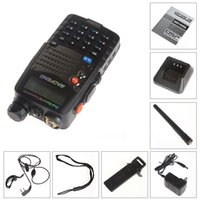 Atacado-Dual Band Civil Walkie Talkie FM Transceiver Baofeng UV-5RA Digital Handheld Intercom Interphone 2 Way 136-174MHz / 400-480MHz
