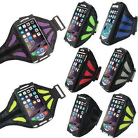 Wholesale Galaxy Table Cover - 2016 NEW fashion Waterproof Sport Arm Band Case For Samsung Galaxy S3 S4 S5 S6 Arm Phone Bag Running Accessories Band Gym Pounch Belt Cover