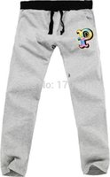 Wholesale Sweat Pink Dolphin - Wholesale-Pink Dolphin P Letter Printed Casual Pants Men Women Loose Wei Pants Sweat Pants Hip Hop Sport Trousers Pink Dolphin Pants