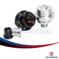 "Wholesale Vw Exhaust - PQY STORE- 2015 NEW HQ 1""(25MM) Dual Piston Blow off valve DV Turbo 1.8T For VW Golf MK4 Jetta A4 B5 Black,Silver PQY5741"