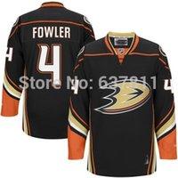 Wholesale Duck Big - 2015 Anaheim Ducks Cam Fowler Hockey Jerseys Home Black Away New White Cheap #4 Cam Fowler Stitched Jersey Big D logo