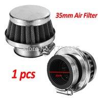 Wholesale Pit Bike Air Filter - 35mm Air Filter Cleaner for 50cc 70cc 90cc 110cc ATVs Quad Dirt Pit Bike Go Kart