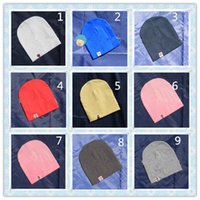 Wholesale Cute Korean Products - Toddler Caps Baby Products Korean Style Fashion Simple Basic Newborn Baby Soft Hats Pure Color Children Baby Boys Girls Winter Warm Cute