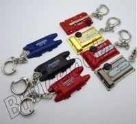 Wholesale Engine Key Chain - Zinc alloy Racing Car Keychain Auto Parts Modified Keyring Engine cover key chain Turbo Key Pendant Wholesale