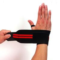 support de poignet achat en gros de-Poignet Sport Wrap Bandage Soutien À La Main Wristband Protector Sweatband Gym Strap Sport Brace
