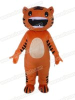 Wholesale Tiger Mascot Outfit - AM9203 Tiger mascot costume Fur mascot suit animal mascot outfit adult fancy dress