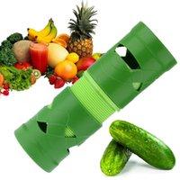 cozinha enfeite venda por atacado-Cortador de frutas Fruit Slicer Spiralizer Fácil Garnish Veggie Twister Processamento Dispositivo Gadgets de Cozinha Utensílios de Cozinha TOP78