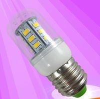 Wholesale E27 24pcs Led Corn - E27 E14 B22 SMD5730 24pcs 3W 2016 New LED Lamp 360 Degree LED Corn Light LED Corn Bulb for Sale