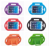 Wholesale silicone cartoon case ipad mini - Cute Kids Cartoon Vintage Radio Tablet Case Shock Proof Soft EVA Silicone Back Cover Case with Kickstand for iPad mini 1 2 3
