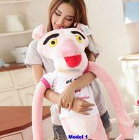 Wholesale Stuffed Panda Model - 2015 63''   160cm Giant Plush Stuffed Biggest Pink Panther Toy, 4 Models vjni7
