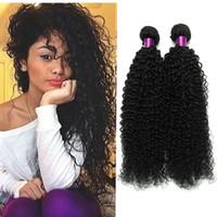 Wholesale 6a brazilian virgin hair kinky for sale - Group buy Brazilian Kinky Curly Virgin Hair A Unprocessed Brazilian Virgin Hair Brazilian Curly Virgin Hair Curly Weave Human Weave Bundles