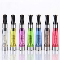 Wholesale Ecig Long Wick - CE4 Clearomizer Atomizer Cartomizer Capacity 1.6ml CE4 Long Wick Various Colors For Ecig E-cigarette Ego t,Ego w Battery